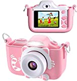BlueFire Kids Digital Camera Mini 2 Inch Screen 16MP HD Child Camcorder Rechargeable