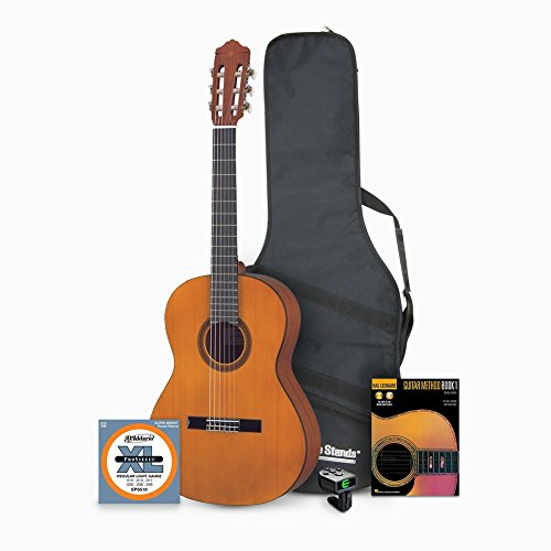 Yamaha CGS103A 3/4-Size Classical Guitar with Accessories Bundle