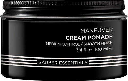 REDKEN Brews Mens Maneuver crema para el cabello Hombres 100 ml (Fijación, Suavizante, 1 pieza(s) Cazuela)