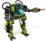 Modbrix Avatar Amp Suit Ladrillos Robot Apto para Mini Figuras, 338Piezas Ladrillos konstruktionsspielzel