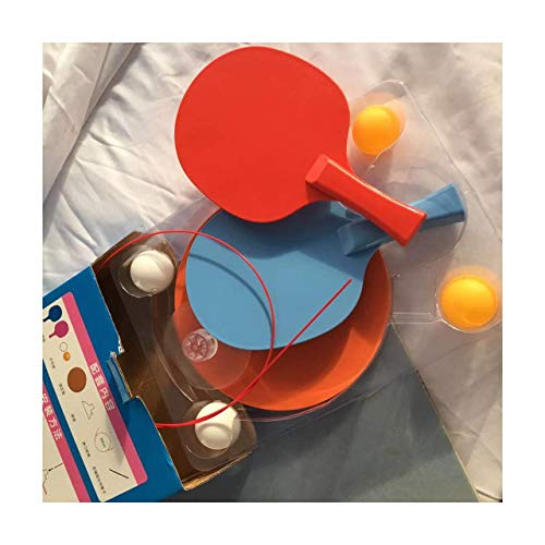 Great Deal! Table Tennis Training Exercise Machine Portable Home Indoor Soft Shaft Children Beginner...