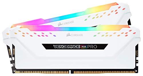 Corsair Vengeance RGB Pro - Kit estético de iluminación LED RGB (DDR4, sin la Memoria incorporada) Blanco (CMWLEKIT2W) 4