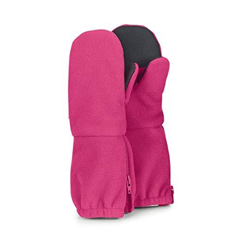 Sterntaler Stulpen-Handschuhe mit Reißverschluss, Alter: 5-6 Jahre, Größe: 4, Magenta