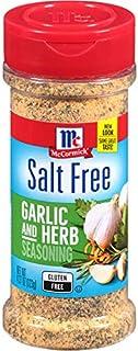 McCormick Salt Free Garlic and Herb Seasoning, 4.37 oz