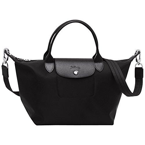 Longchamp Le Pliage Neo Kleine Handtasche (schwarz)