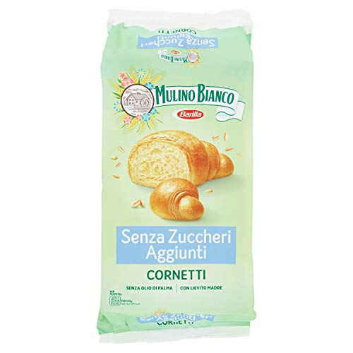 Mulino Bianco Cornetti Senza Zuccheri 6 Cornetti, 228g
