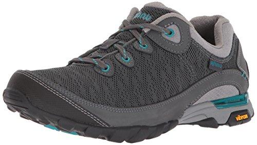 Ahnu Women's W Sugarpine II Air Mesh Hiking Boot, dark shadow, 6 Medium US