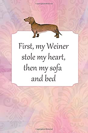 Lined Notebook With Quote Dachshunds - Weiner Dog Gifts For Women