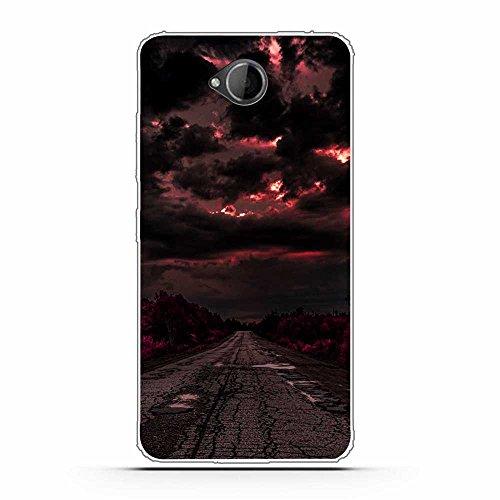FUBAODA Microsoft für Nokia Lumia 650 Hülle, Schöne & romantische Landschaft Serie TPU Case Schutzhülle Silikon Case für Microsoft für Nokia Lumia 650