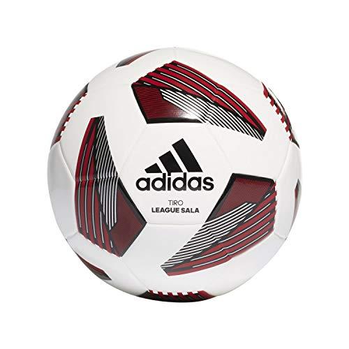 adidas Tiro League Sala - Balón de fútbol, Color Blanco, Negro y Plateado