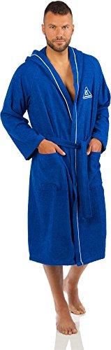 Cressi XVA826202, Accappatoio Sport Unisex – Adulto, Azzurro, S