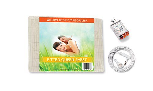 Earthing Fitted Sheet Kit, Queen