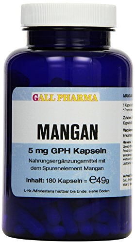 Gall Pharma Mangan 5 mg GPH Kapseln, 180 Kapseln