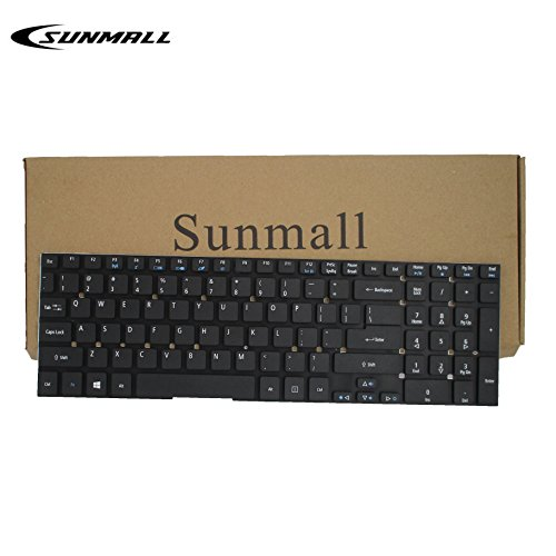 SUNMALL Keyboard Replacement Without Frame for Acer Aspire 5755 5755G 5830 5830G 5830T 5830TG V3-551 V3-531 V3-571 V3-771 V3-772 E1-522 E1-530 E1-532 E1-570 E1-771 E5-511 ES1-512, Gateway NV55S NV57H