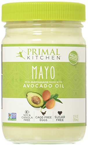 Primal Kitchen - Avocado Oil Mayo, Gluten and Dairy Free, Whole30 and Paleo Approved
