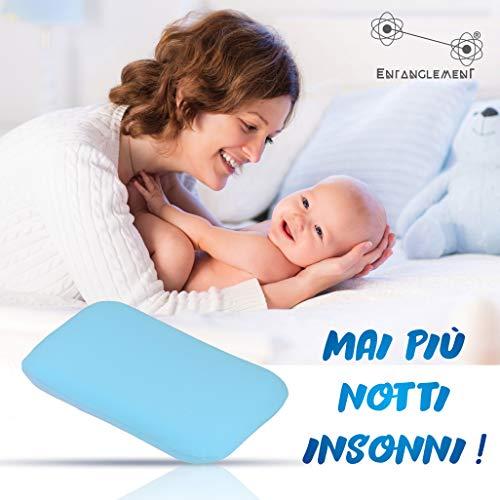 Entanglement® Almohada Para Bebe Para Plagiocefalia Antiasf