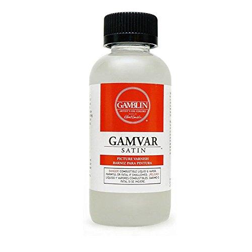 Gamblin Gamvar Pict Varnish 8.5 Oz Satin
