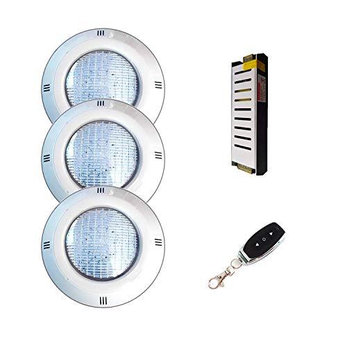 Warmpool Pack Focos LED 35W Blanco Cálido de Superficie para Piscina +...
