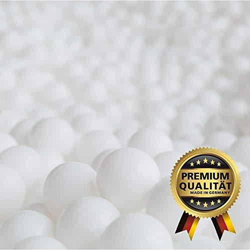 GAMEWAREZ Refill-Bag, ca. 100 Liter Nachfüllpackung/Sitzsack Füllung aus EPS-Perlen/Styroporkügelchen in höchster Premium Qualität - Einfaches Nachfüllen von Sitzsäcken, Sitzkissen und Hundekissen