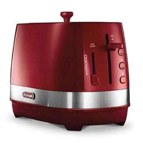 Delonghi ACTIVE SERIES Pop-Up Toaster CTLA2003J-R (Passion Red)【Japan Domestic genuine products】【Ships from JAPAN】