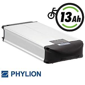 Phylion Akku XH370-10J für E-Bike Pedelec 37V 13Ah für u.a. MiFa, Rex, Prophete (D)