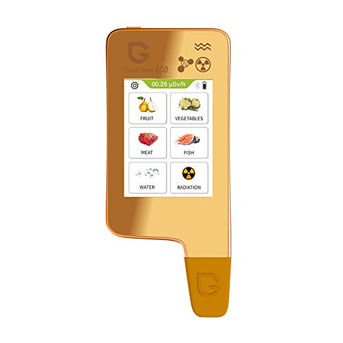 Greentest eco 6 Nitratprüfer für Gemüse, Obst, Fleisch, Fisch, Wasser Meter Härte TDS PPM, Strahlungsdetektor Geigerzähler E6G