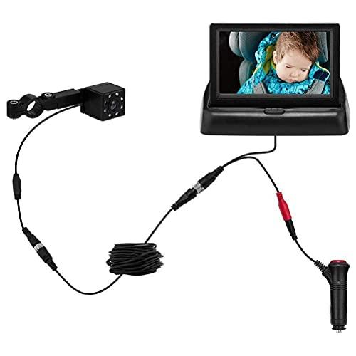 Tumnea Monitor de bebé para Coche con cámara, Monitor de bebé, Monitor...