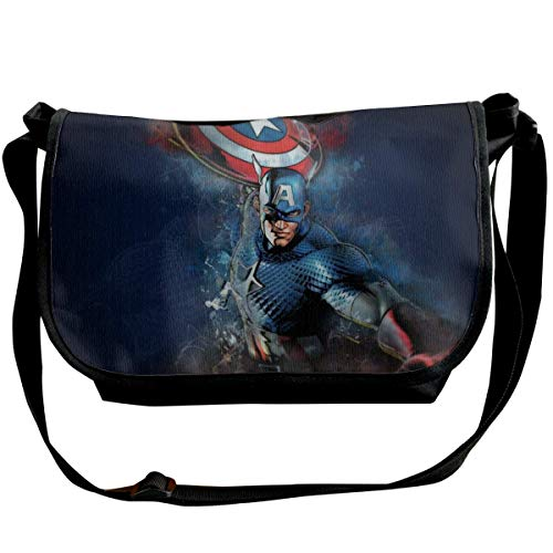 JONINOT Science Fiction Movie Avenger Shoulder Bags Commute Messenger Bag Work Purses Crossbody Satchel Schoolbag
