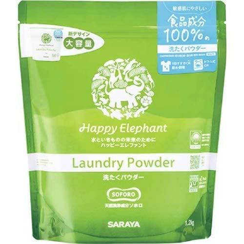 Happy Elephant ハッピーエレファント 洗たくパウダー 1.2kg