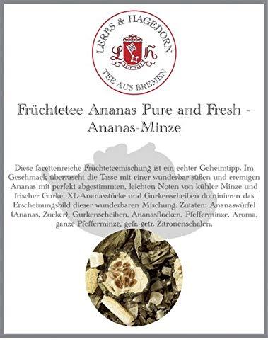 Früchtetee Ananas Pure and Fresh 1 kg - Ananas-Minze