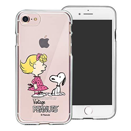 iPhone 5S / iPhone 5 / iPhone SE(2016) ケース と互換性があります Peanuts Snoopy ピーナッツ スヌーピー 透明 ソフト TPU クリア カバー/スリム 軽量 ピッタリフィット 【 アイフォン5S / ア