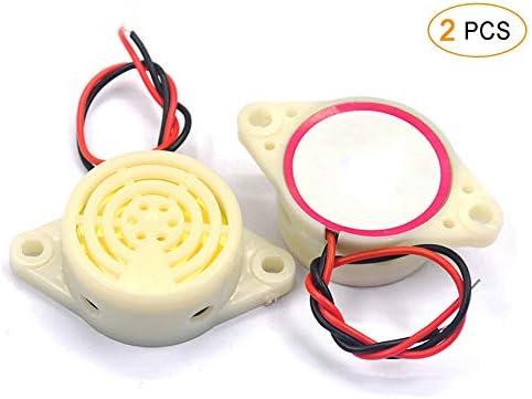 Product ZYHW Piezo Electronic Buzzer Alarm Loud 80dB 3-24V half DC Continuous