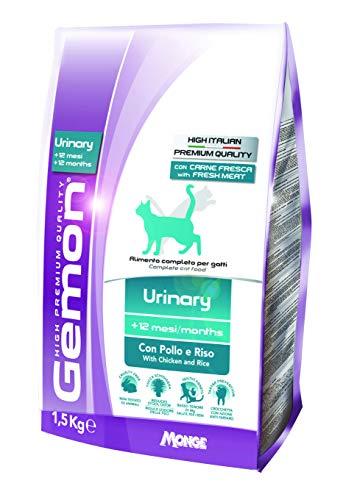 Gemon Cat Urinary con Pollo E Riso per Gatti da 1,5 kg