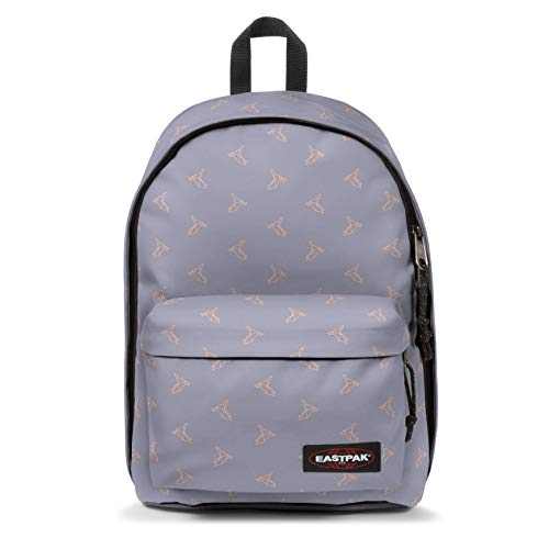 EASTPAK OUT OF OFFICE Mochila tipo casual  44 cm  27 liters  Morado  Minigami Birds