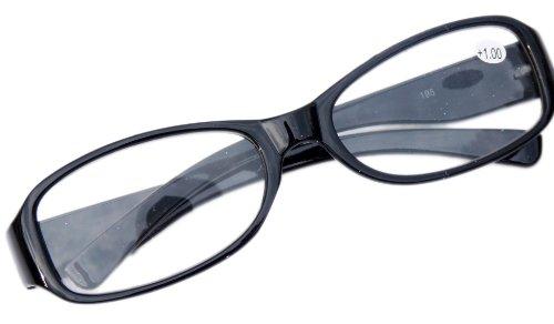 Nerd leesbril Slim Fit met smalle rand +2.00