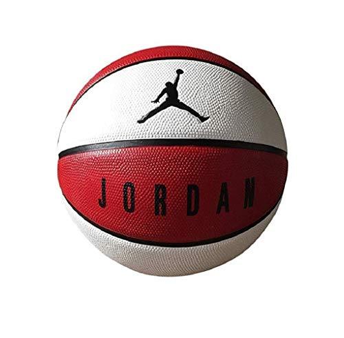 Nike Jordan Playground 8P Basketball (red/Black/White, 7)