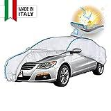 Telone per auto WALSER 31040 in PEVA, copertura impermeabile per auto, garage completo, protezione solare, protezione dai raggi UV