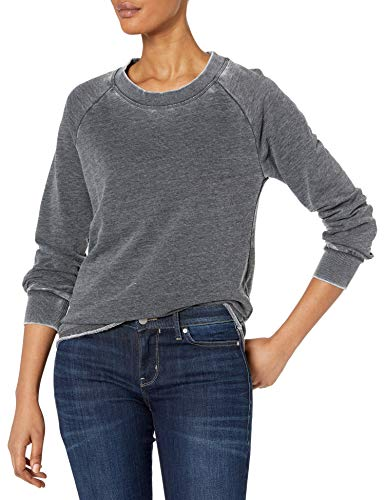Alternative Women's Lazy Day Pullover, Washed Black, Large