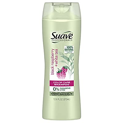 Suave Professionals Shampoo, Black Raspberry + White Tea, 12.6 Fl Oz (Pack of 6)