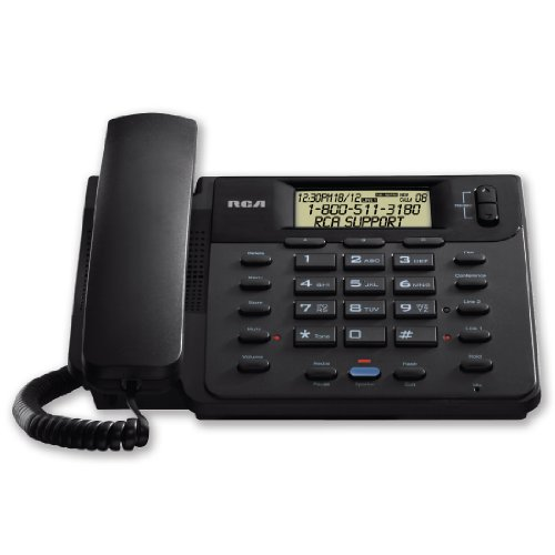 RCA 25201RE1 1-Handset 2-Line Landline Telephone