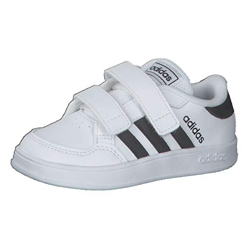 adidas BREAKNET I, Zapatillas de Tenis, FTWBLA/NEGBÁS/FTWBLA, 27 EU