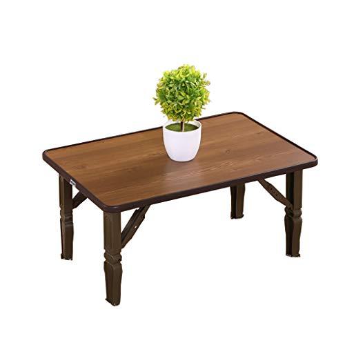 QFF-Bureau d'ordinateur Table rectangulaire, salon balcon table basse ménage multifonction pliable bureau chambre écrit bureau Table de travail (Couleur : A, taille : 70 * 50 * 30cm)