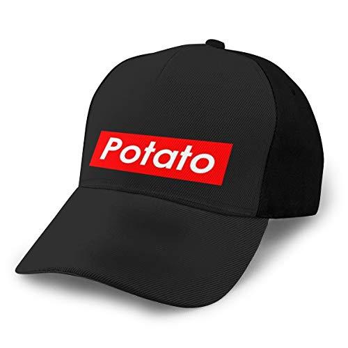 N/ Supreme - Gorra de béisbol Ajustable, Color Negro