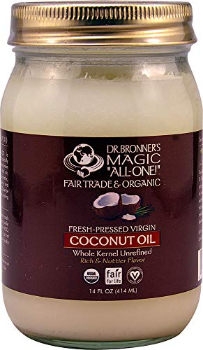 Dr. Bronner - Coconut Oil Whole Kernel, 14 fl oz liquid