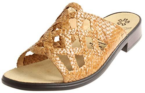 Ganter Lederpantolette Hausschuhe Clogs Pantolette Clio 7-203017 Sahara EU 40 2/3 UK 7