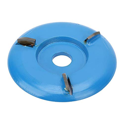 Disco de bandeja de talla de madera, cortador de fresado Disco de excavación de bandeja de té de talla de madera para carpintería, hogar para la industria(arc)