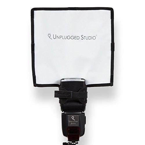 UNPLUGGEDSTUDIOクリップオンストロボ用フレキシブルリフレクターAC-010