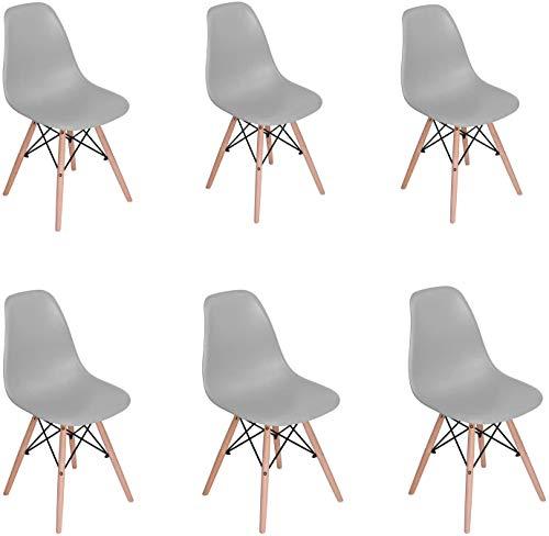 Restaurante moderno y su dormitorio, una cómoda silla de madera es perfecto para su hogar,Grey