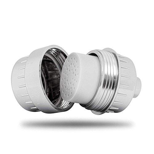 Dusche Filter Set of 2–qualwares 8Stage Dusche Ersatz-Filter–REDUZIERT Frizz, beruhigt Haut, juckender Kopfhaut oder haut und Filter Chlor und mehr