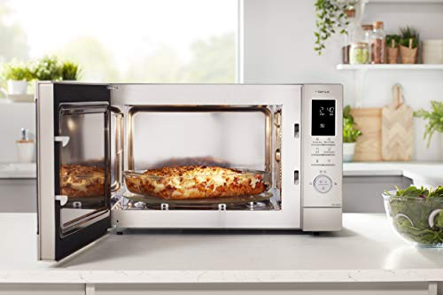 Panasonic NN-CD87KSBPQ Inverter Combination Microwave Oven with Turntable, 1000 W, 34 Litres, Silver